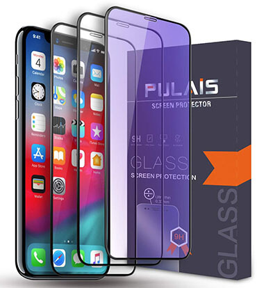 Pulais iPhone XS Max Tempered Glass Privacy Screen Protector
