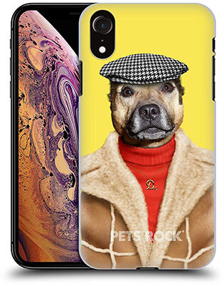 Official Pets Rock Dog Boy iPhone XR Case by Head Case Designs