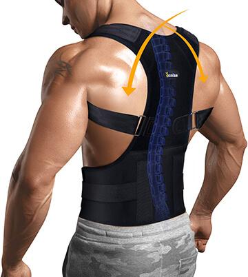 Junlan Back Pain Relief Support Posture Corrector