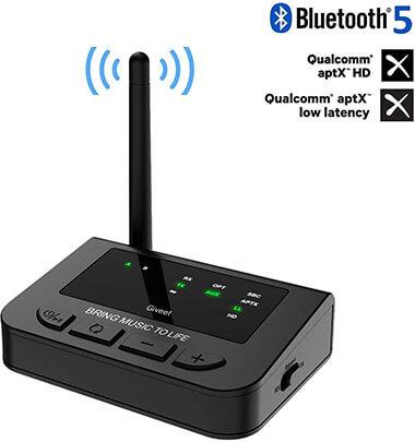 Giveet 265 Feet Plug & Play Long Range Bluetooth Transmitter Receiver