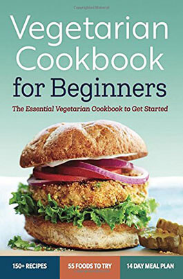 Rockridge Press Vegetarian Book for Beginners