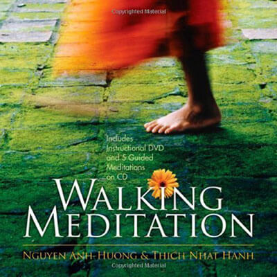 Walking Meditation with CD and DVD by Thich Nhat Hanh