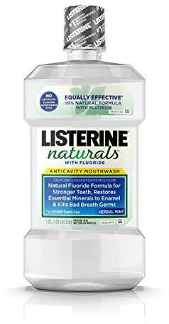 Listerine Naturals Anticavity Fluoride Mouthwash
