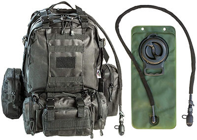 Monkey Paks Tactical Military MOLLE Backpack Bundle
