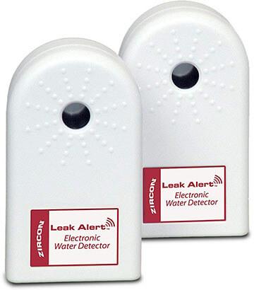 Zircon Water Leak Alert Electronic Water Detectors