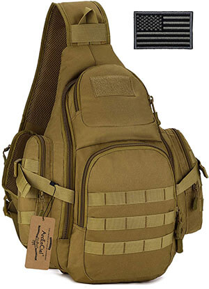 ArcEnCiel Tactical Sling Pack Backpack