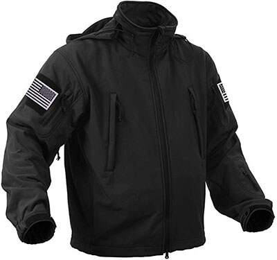 Rothco Special Ops Tactical Jacket with Patches Bundle