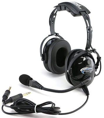 Rugged Air RA200 General Pilot Aviation Headsets