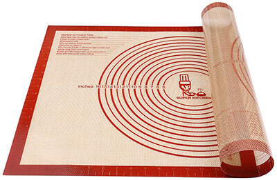 Folksy Super Kitchen Non-Slip Silicone Baking Mat