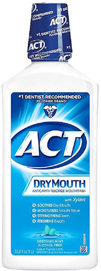 ACT Total Care Dry Mouth Anticavity Fluoride Mouthwash