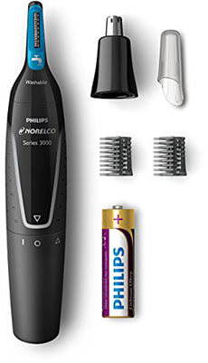 Philips Norelco hair Trimmer for nose, ear, face, and eyebrows