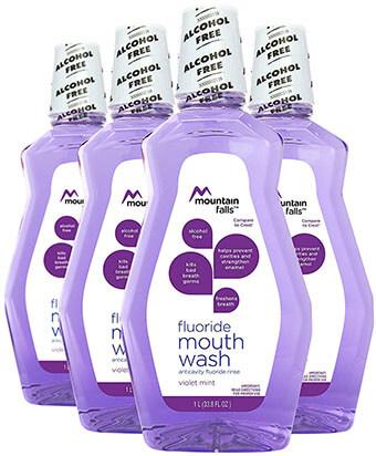 Mountain Falls Fluoride Mouthwash