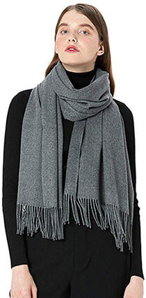 MaaMgic Women's Large Soft Cashmere Feel Winter Scarf