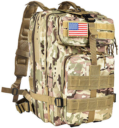 CVLIFE Military Tactical Army Molle Backpack