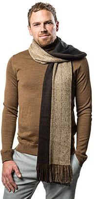 Mio Marino Knit Stripped men's scarf