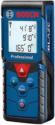 Bosch Blaze Pro GLM165-40Laser Distance Measure, 165-Feet