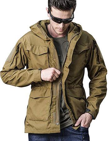 SEMARO Men Tactical Army Sport Jacket