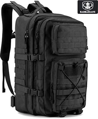 Barbarians Tactical Military Backpack, 35L