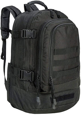 GreenCity Expandable Military Outdoor Backpack, 64L