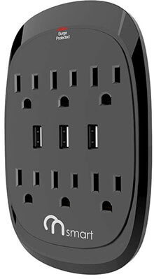 ON Smart Solution PowerOutlet Extender with 6 power ports and 3 USB ports