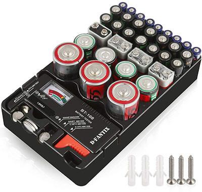 D-FantiX Battery Organizer Storage Case