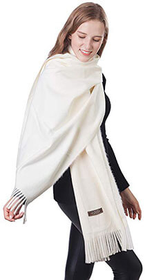 A Sund Women Soft Scarf Large Pashminas Shawl and Wrap Warm