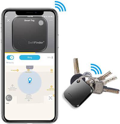 Toksam Keyfinder, Luggage Tracking Locator with APP control