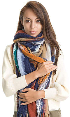 Genovega Luxury Winter Blanket Scarf