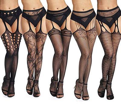 Akiido High Waist Tights Fishnet Stockings