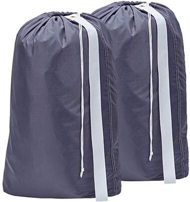 HOMEST 2 Pack Nylon Laundry Bag