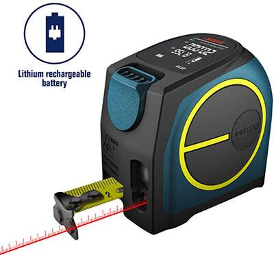 DTAPE Laser Tape Measure 2-in-1