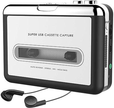 Dansrueus 2019 Updated Cassette to MP3 Converter