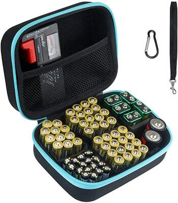 Brappo Battery Organizer