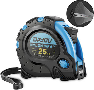DAYOU 25ft Measuring Tape Retractable