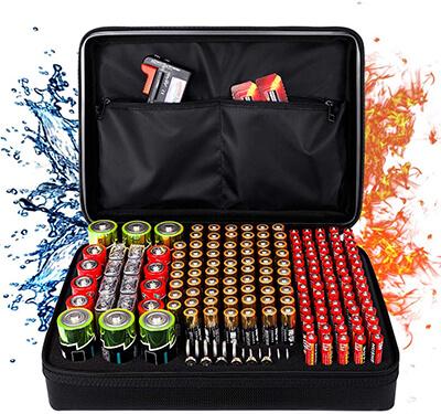 Budding Trade Fireproof Battery Organizer