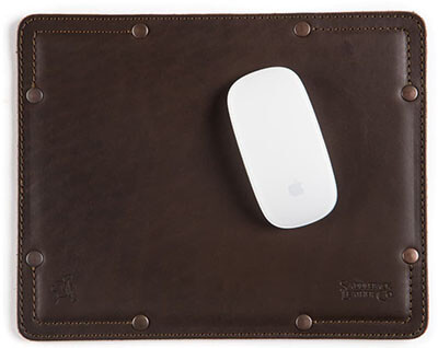 Saddleback Best 100% Full Grain Leather Mouse Pad