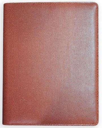 Zumer Football Leather Agenda Planner Portfolio Padfolio Notepad