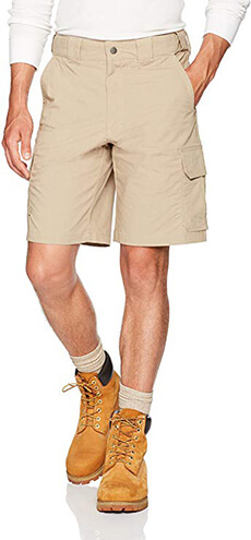 "Dickies Men's Stretch Ripstop Tactical Short 10"" Inseam"