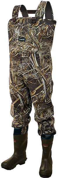 Frogg Toggs Amphib Neoprene Bootfoot Camo Chest Wader