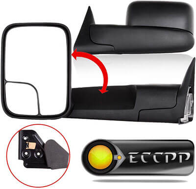 ECCPP Side-View Mirror Towing Mirrors