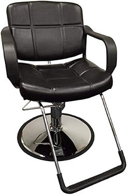 D Salon wide Hydraulic Barber Chair