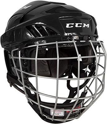 CCM Fl40 HTFL40C Hockey Helmet Combo