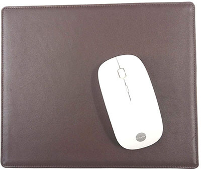 Red Spider Genuine Leather Mouse Pad- Full-Grain Leather