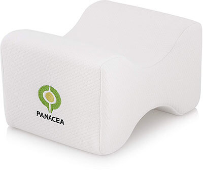 Panacea Wellbeing Knee Pillow- Memory Foam
