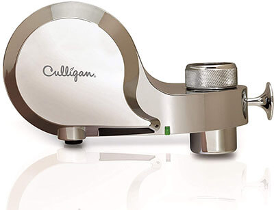 Culligan FM-100-C Faucet Mount Water Filter, Chrome Finish
