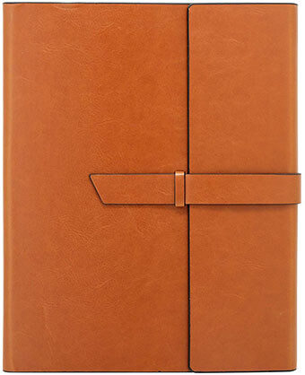 Gallaway Versatile Leather Padfolio Folder