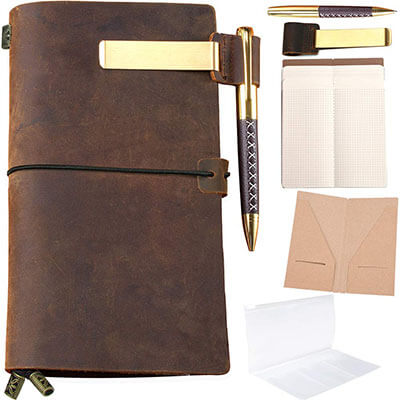 Sovereign Gear Refillable Leather Journal