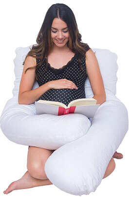 "Meiz 55"" U Shaped Maternity Pillow"