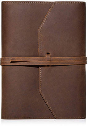 Abundance Gifts Refillable Leather Journal