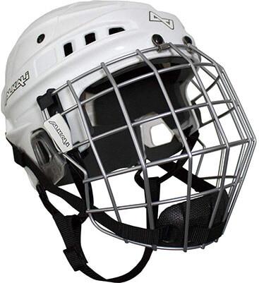 Alkali Visium Hockey Helmet plus Cage Combo